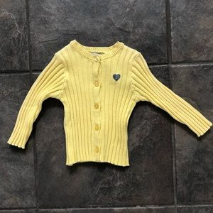 3 Pommes Yellow BABY Sweater 3-6 Months 3POMMES